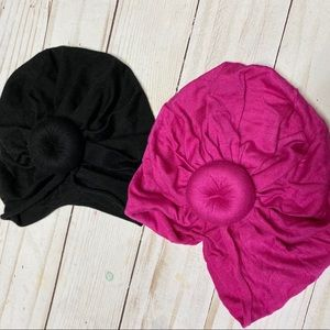 Other - Baby turban / top knot hat bundle 0-3m